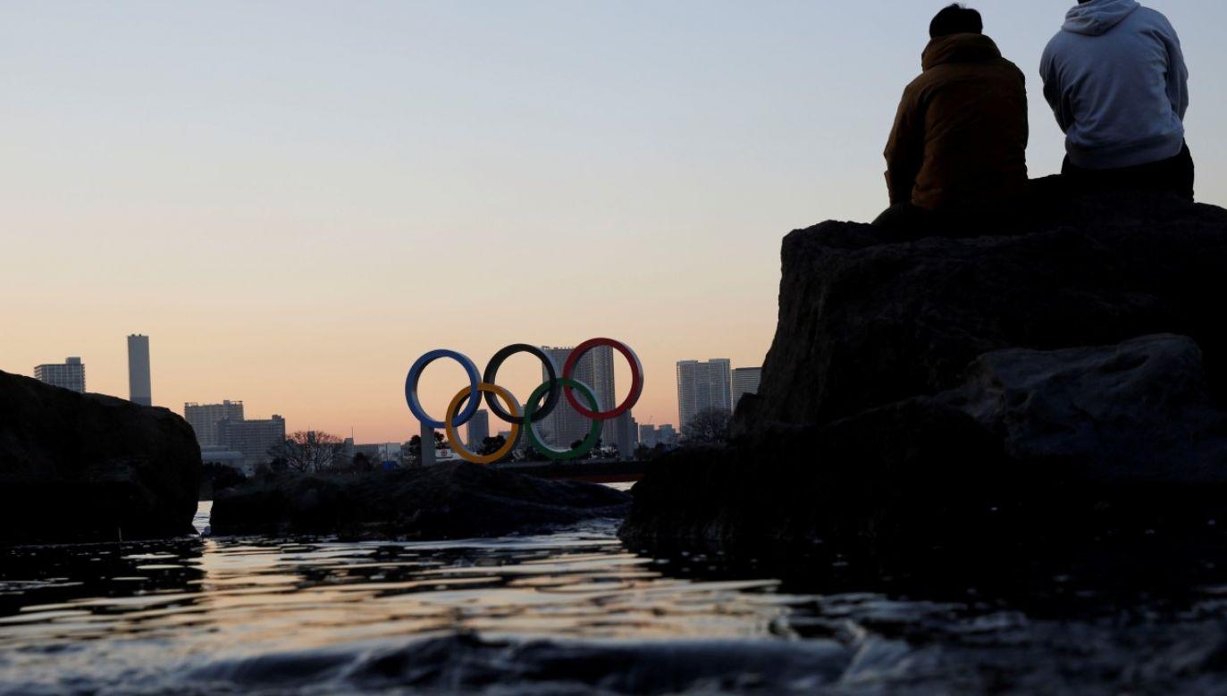 Z powodu pandemii igrzyska w Tokio zostały już przełożone z 2020 na 2021 rok (fot. REUTERS/Kim Kyung-Hoon TPX IMAGES OF THE DAY)