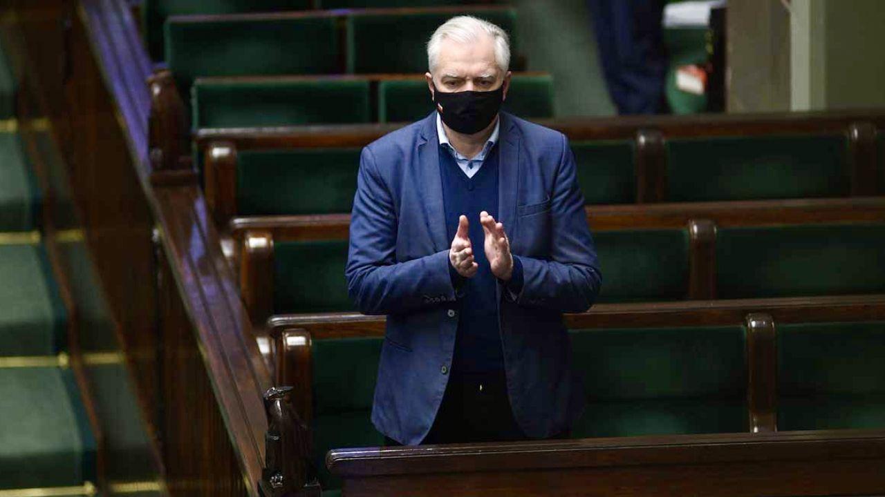 Jarosław Gowin o przyszłości Porozumienia (fot. FORUM/Adam Chelstowski)