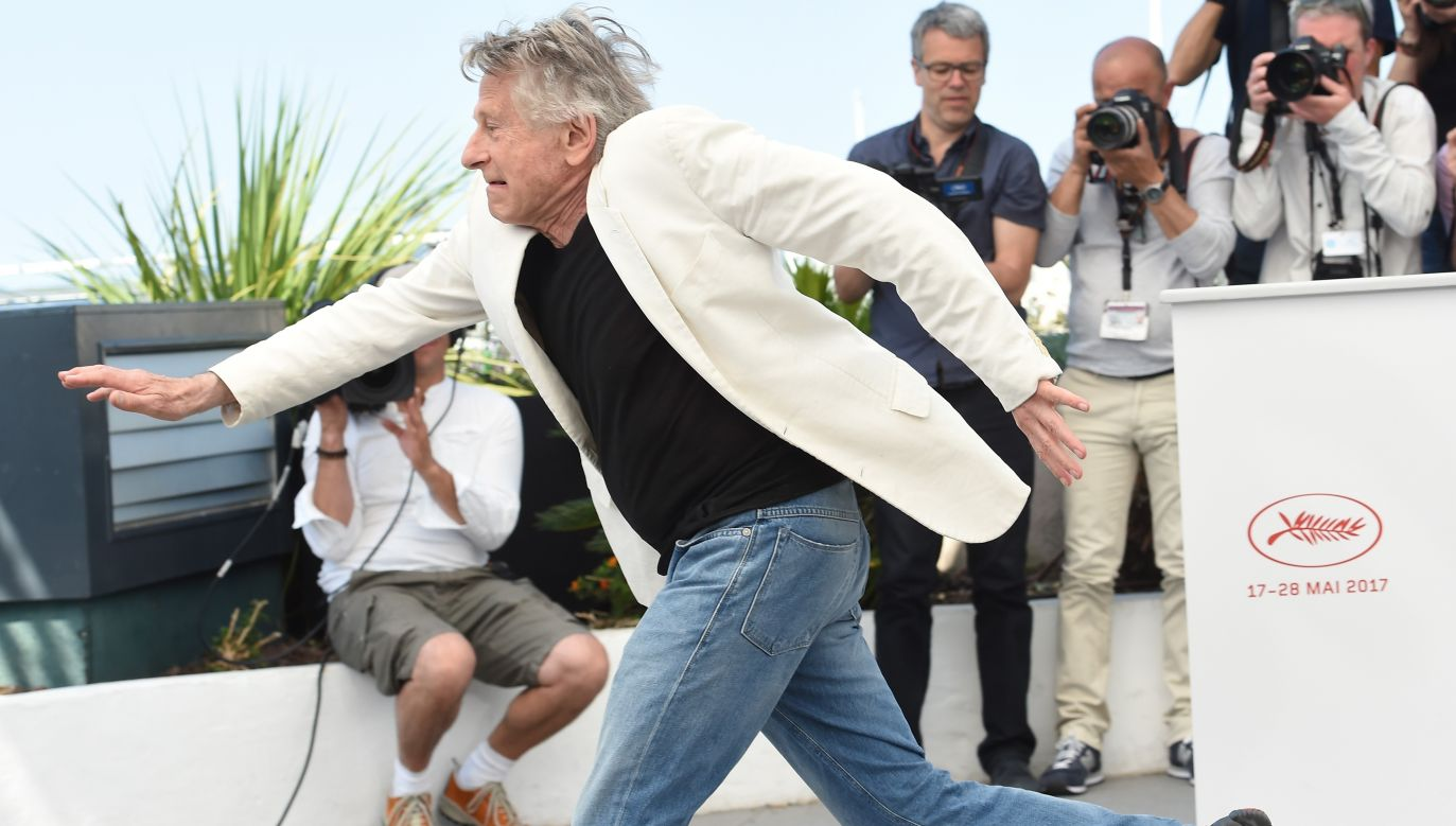 Roman Polański na festiwalu filmowym w Cannes w maju 2017. Fot. Stephane Cardinale - Corbis/Corbis via Getty Images