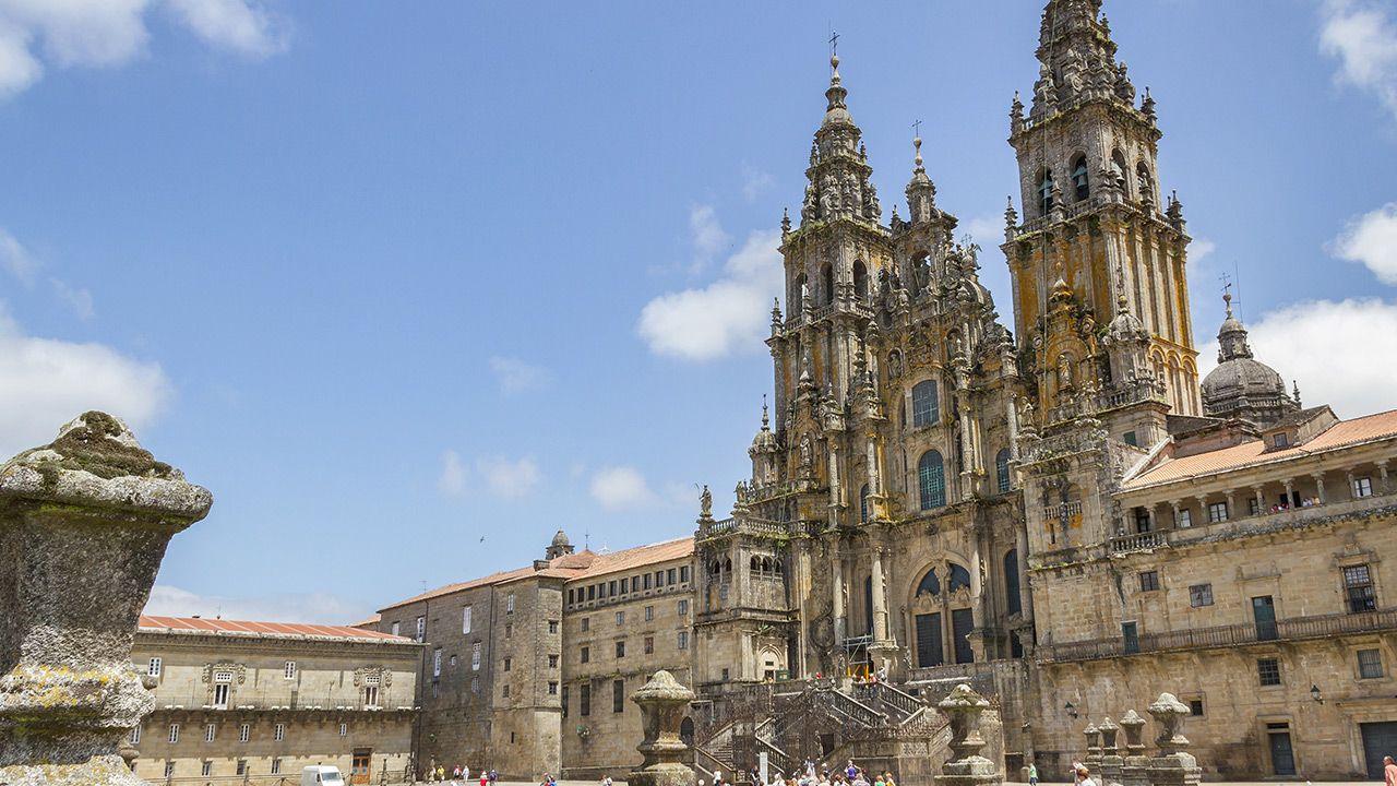 Katedra w Santiago de Compostela w Hiszpanii (fot. Shutterstock)