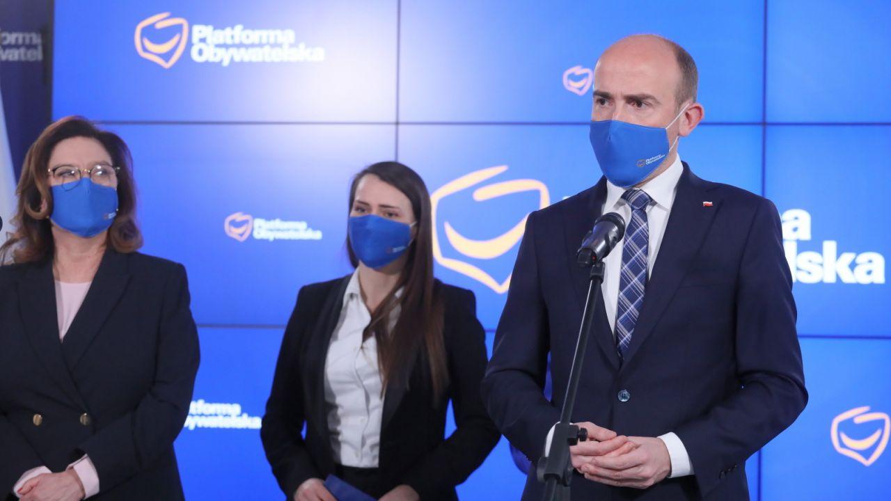 Aborcja w Polsce. Platforma Obywatelska przedstawiła stanowisko (fot. PAP/Paweł Supernak)