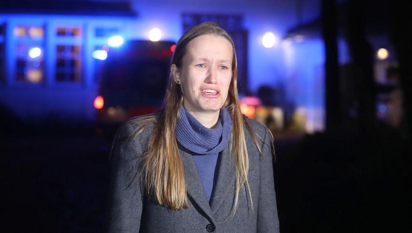 """Żona Romana Giertycha napisał w poniedziałek na Twitterze, że funkcjonariusze CBA """"robili niedwuznaczne propozycje w stosunku do jej córki"""" (fot. Wojciech Olkuśnik/PAP)"""