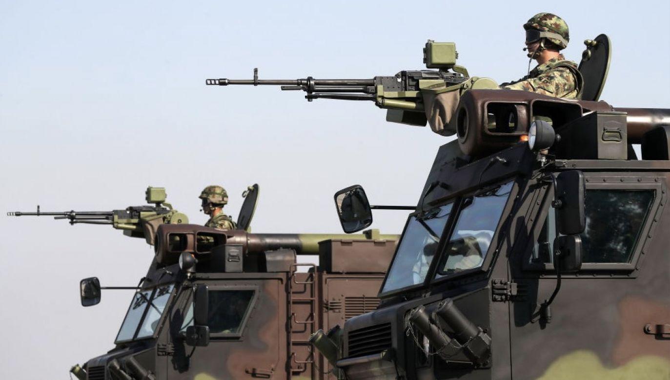 Serbia jest pierwszym europejskim odbiorcą tych rodzajów chińskiego uzbrojenia (fot. Yekaterina Shtukina\TASS via Getty Images)