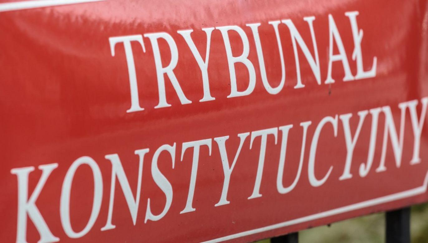 Bruksela chce, by polski premier wycofał wniosek do Trybunału Konstytucyjnego (fot. arch.PAP/Leszek Szymański)