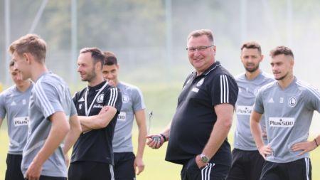 Legioniści rozpoczęli przygotowania do sezonu (fot. PAP/Leszek Szymański)