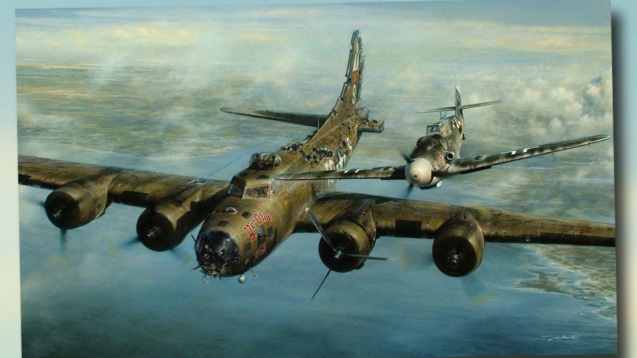 Incydent z udziałem B-17 i messerschmitta nie mieści się w kanonach II wojny światowej (fot. TT)