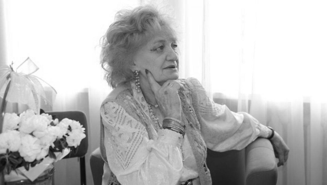 Ludmiła Łączyńska miała 96 lat (fot. Jacek Konecki/Polskie Radio)