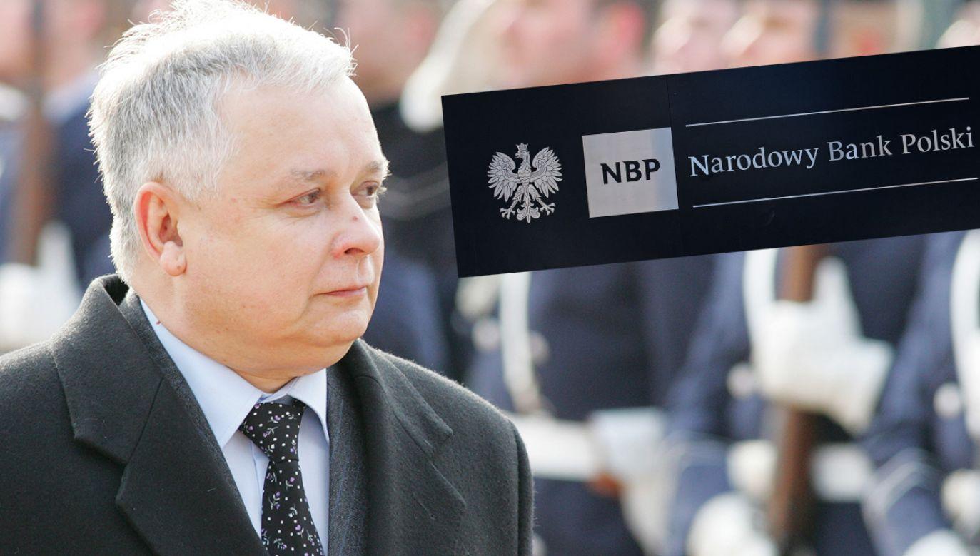 Banknot ze śp. Lechem Kaczyńskim będzie miał nominał 20 zł (fot. Shutterstock; Popow/ullstein bild via Getty Images)