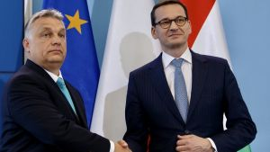 W czwartek premier Węgier Wiktor Orban przyjmie w Budapeszcie szefa polskiego rządu Mateusza Morawieckiego (fot. KPRM)