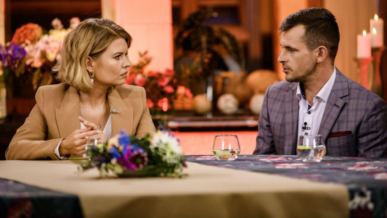 – Myślę, że raczej to będą miłe spotkania – Adrian wyznał Marcie, że nie ma tremy przed spotkaniami z kandydatkami, które gościł na gospodarstwie (fot. TVP)