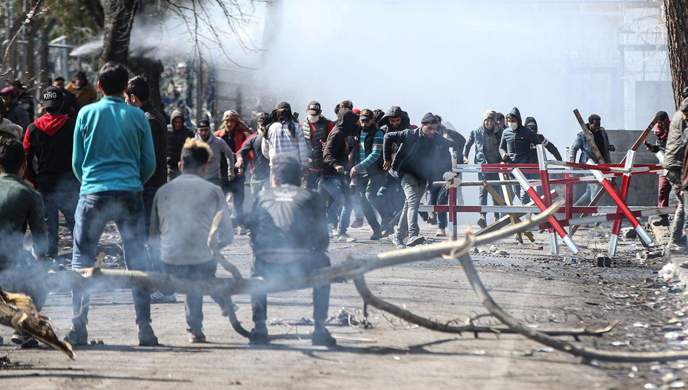 Źródła sporu sięgają 2015 r.  (fot. Elif Ozturk/Anadolu Agency via Getty Images)