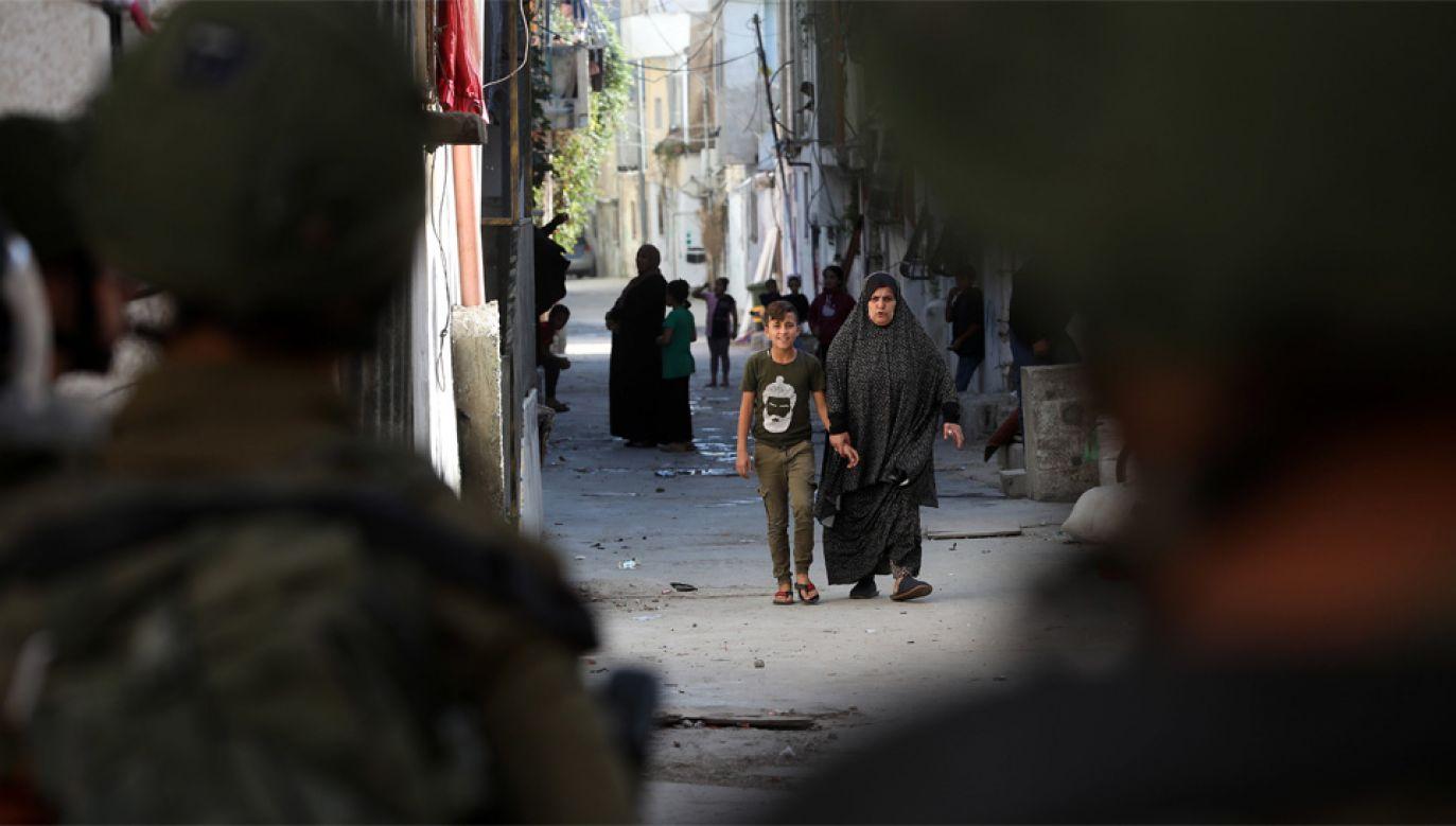 Rada Bezpieczeństwa ONZ krytykuje żydowskie osadnictwo w Palestynie (fot. PAP/EPA/ABED AL HASHLAMOUN)