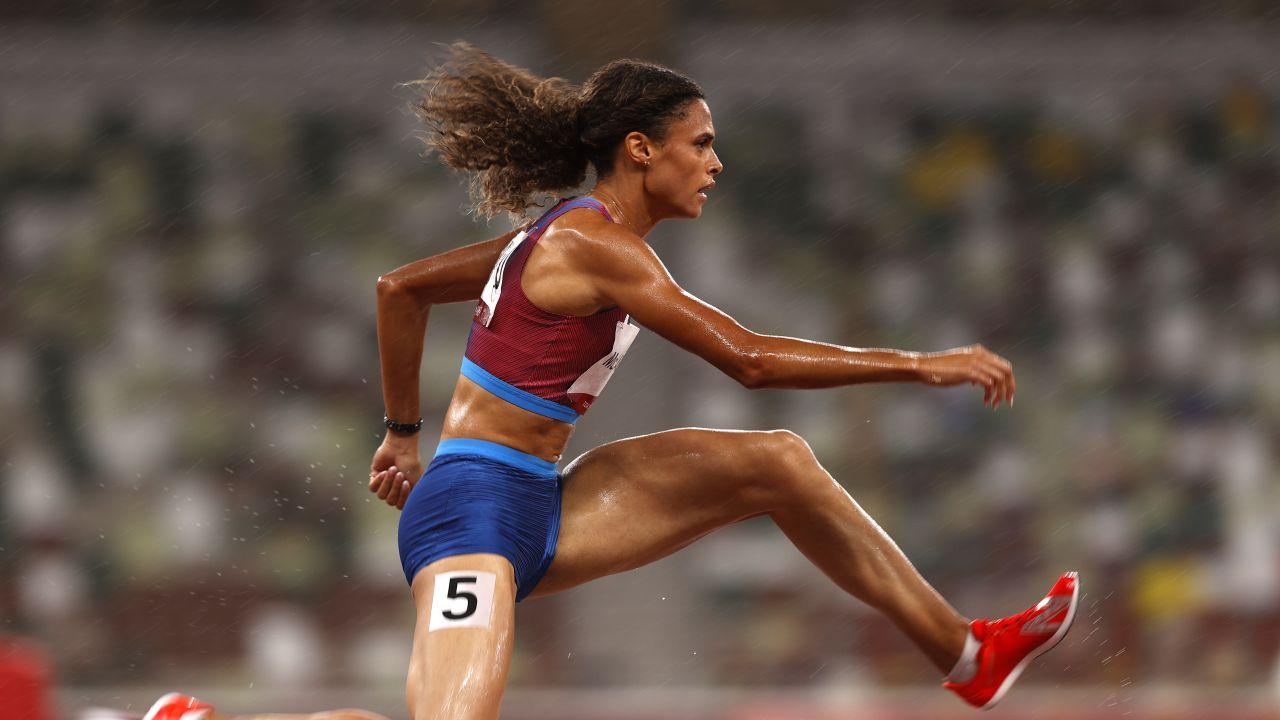 Sydney McLaughlin pobiegła w czasie 51.46 i pobiła swój własny rekord świata. (fot. Getty)