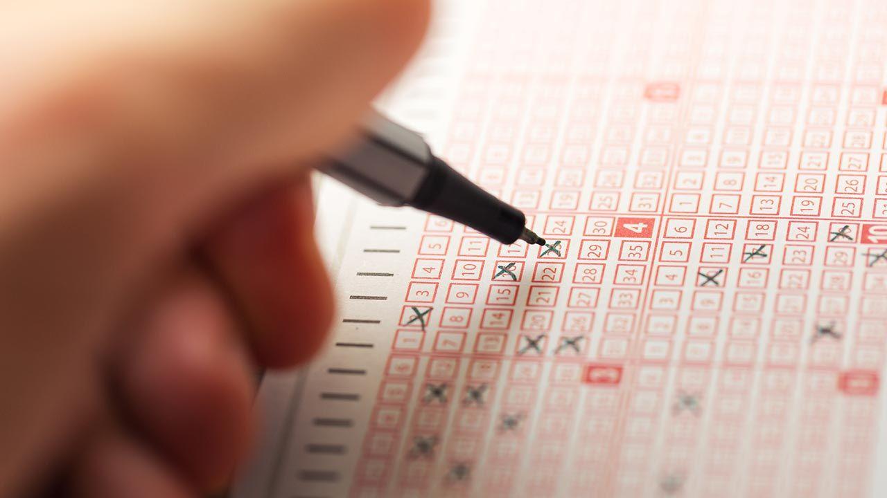 Gra polega na wytypowaniu 6 z 49 cyfr (fot. Shutterstock/ronstik)