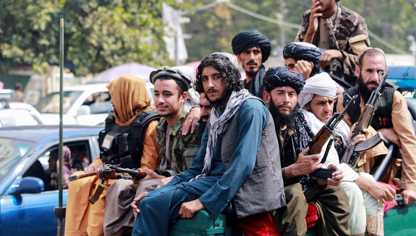 Talibowie chcą, by surowe kary odstraszały potencjalnych przestępców (fot. EPA/STRINGER Dostawca: PAP/EPA)