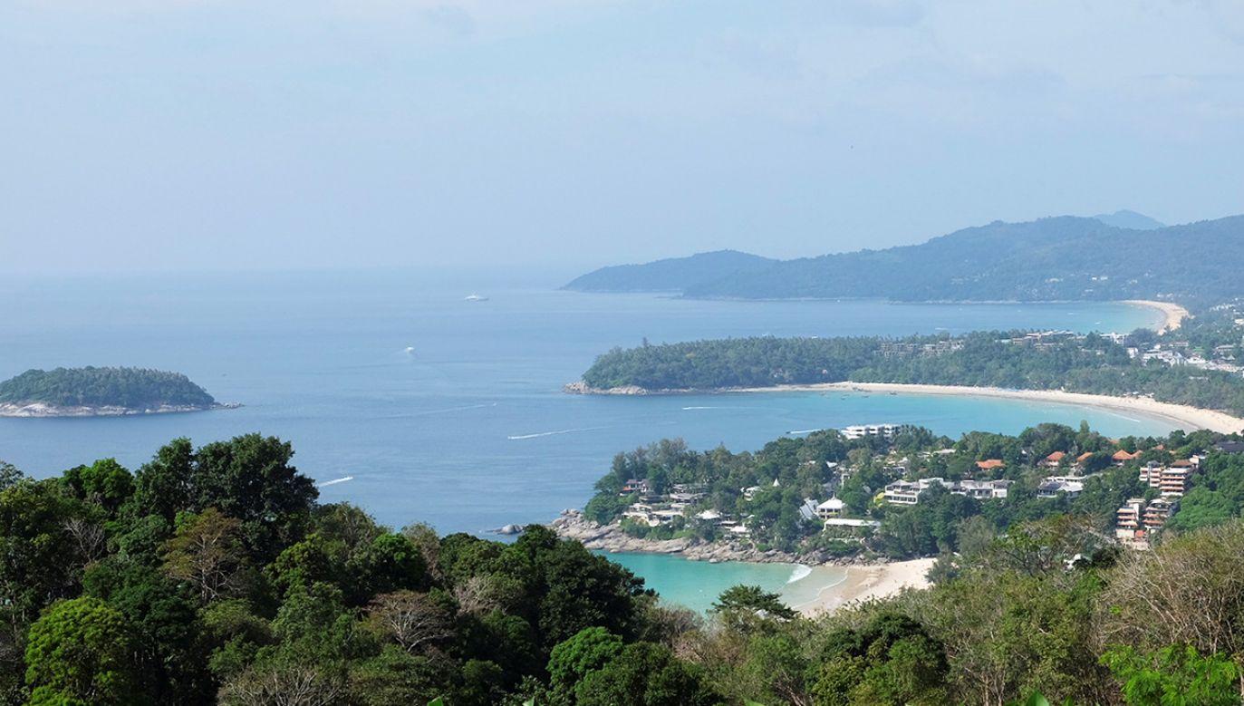 Para pływała w pobliżu wyspy Phuket (fot. Marka/Universal Images Group via Getty Images)