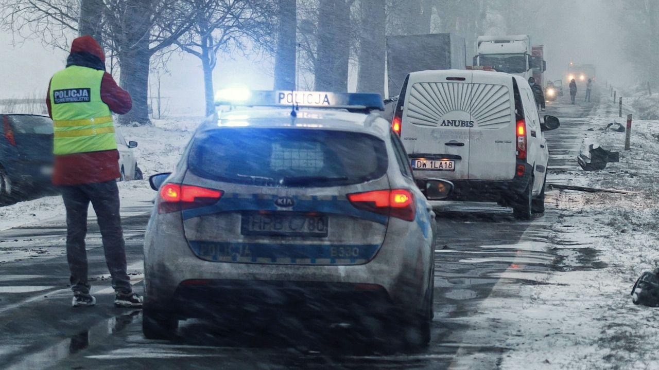 Zanim został zatrzymany, przejechał 250 kilometrów (fot. PAP/A.Koźmiński, zdjęcie ilustracyjne)