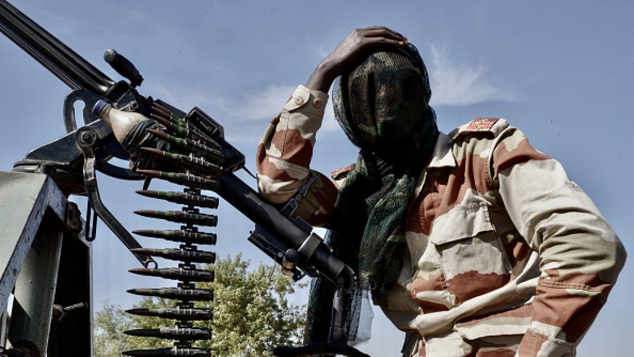 Żołnierz armii Nigru (fot. Getty Images)