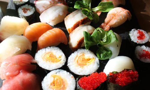 Sushi. Fot. Akiko Miwa