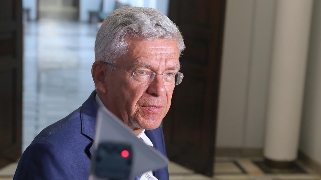Senator Stanisław Karczewski (fot. PAP/Tomasz Gzell)