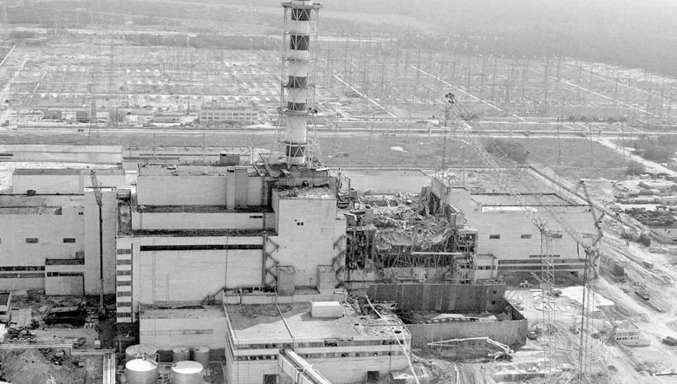 Przed 35 laty w elektrowni atomowej w Czarnobylu doszło do awarii (fot. PAP/ITAR-TASS)