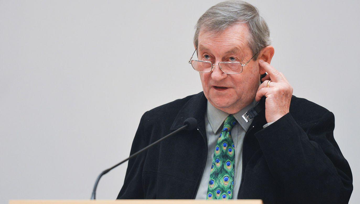 Norman Davies, British historian, Photo: Artur Widak/NurPhoto via Getty Images