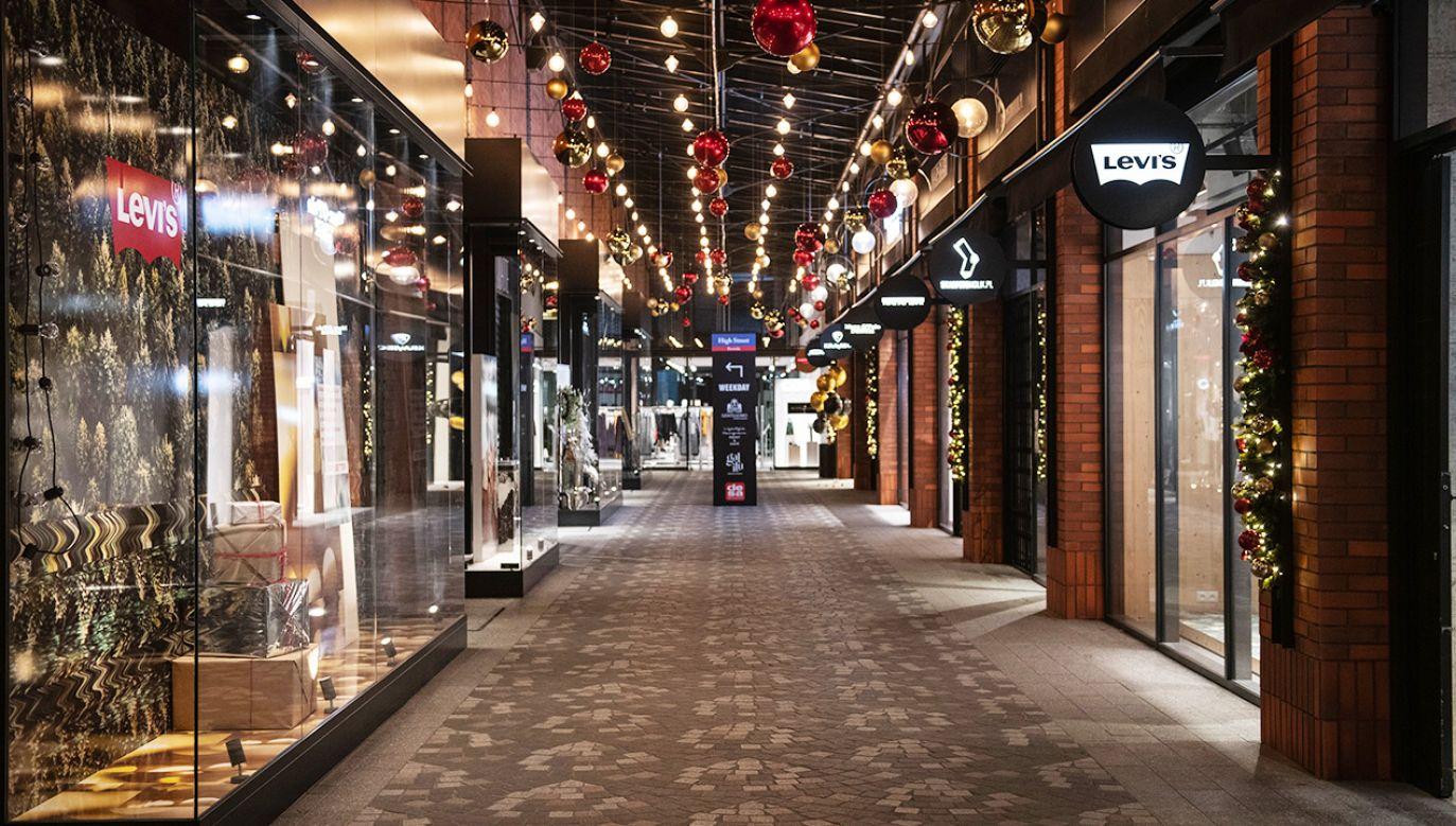 PRCH apeluje do rządu o jak najszybsze otwarcie galerii handlowych (fot. Lukasz Sokul/Bloomberg via Getty Images)