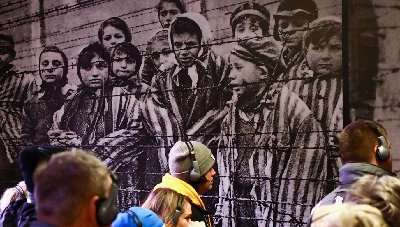 Liczba ofiar Holokaustu jest szacowana na prawie 6 mln (fot. Beata Zawrzel/NurPhoto via Getty Images)