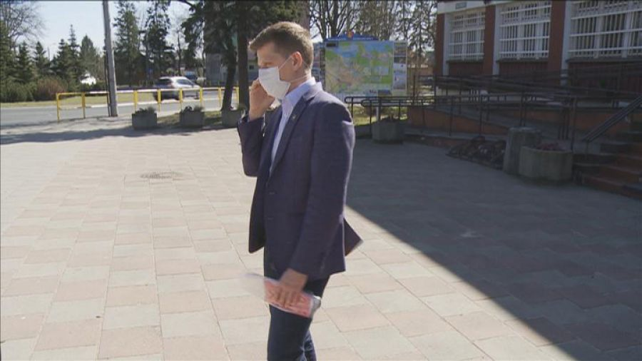 W Augustowie do każdego mieszkańca trafi maseczka ochronna