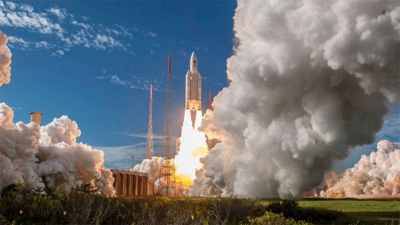 System Galileo ma liczyć 30 satelitów (fot. PAP/EPA/ESA-CNES-ARIANESPACE HANDOUT)