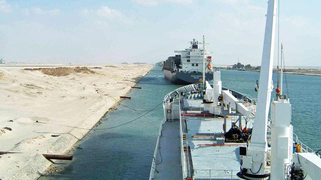 Nowy Kanał Sueski ukończono 29 lipca (fot. wikipedia.org)