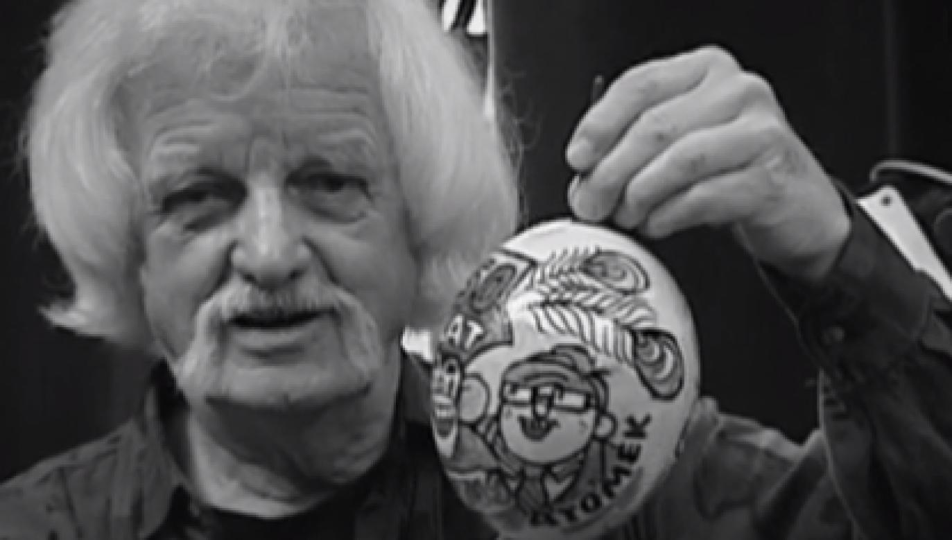 """""""Papcio Chmiel"""", czyli Henryk Jerzy Chmielewski (fot. TVP1)"""