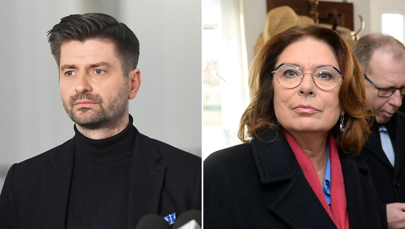 Krzysztof Śmiszek, Małgorzata Kidawa-Błońska (fot. PAP/Radek Pietruszka,Jakub Kaczmarczyk)