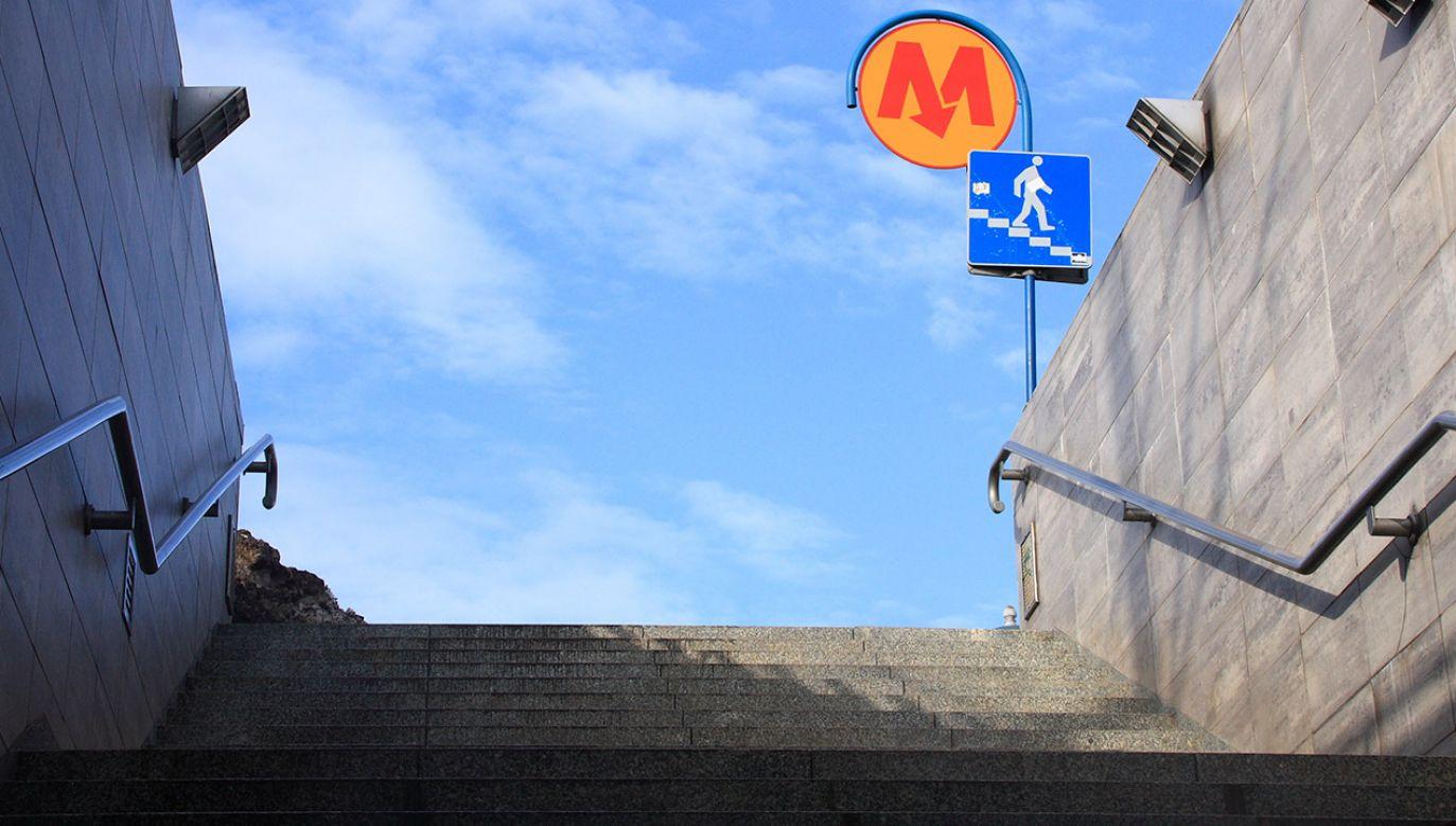 Stacja Szwedzka położona jest na nieodebranym jeszcze odcinku drugiej linii stołecznej kolei podziemnej (fot. Shutterstock/Tomasz Bidermann)