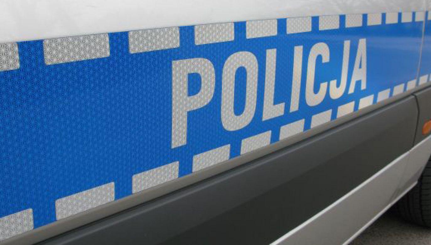 Ostatecznie funkcjonariusze zatrzymali kierowcę (fot. policja.gov.pl)