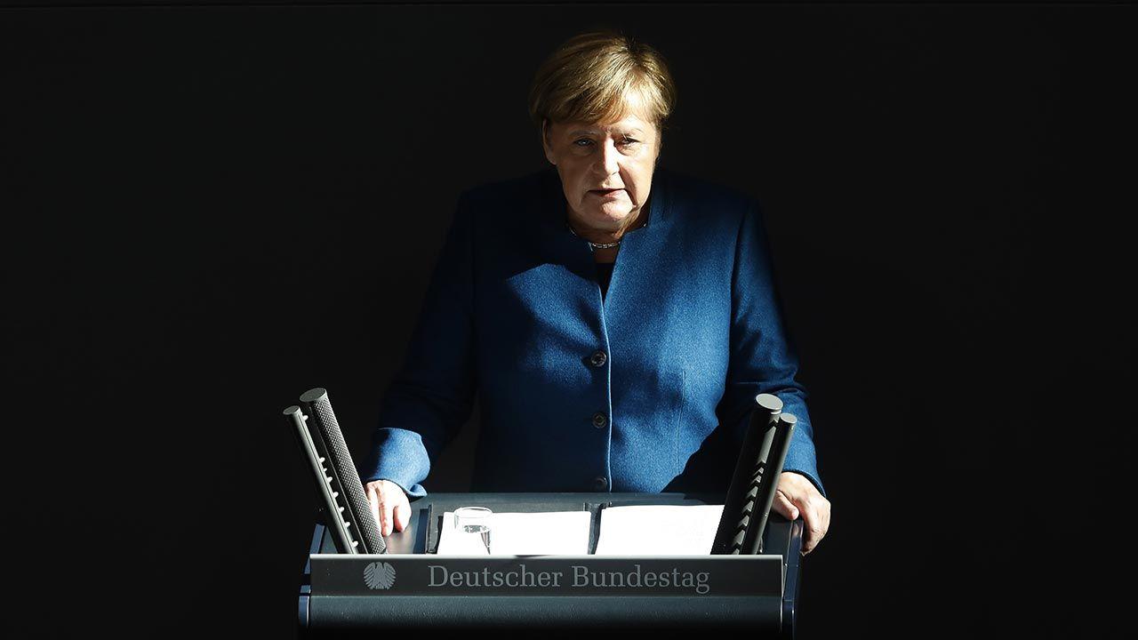 """""""Brak pasji i woli czynu"""" słabą stroną polityki Angeli Merkel – uważa komentator (fot. Michele Tantussi/Getty Images)"""