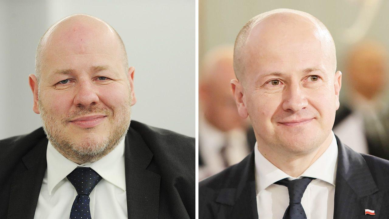 Jan Filip Libicki wstrzymał się od głosu. Dlaczego? (fot. PAP/Marcin Obara; Leszek Szymański)