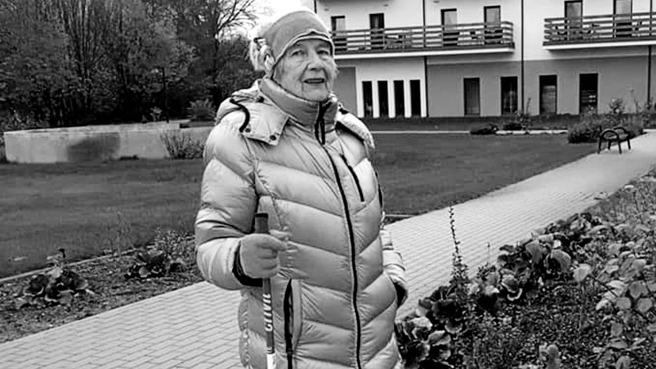 """Józefa Stefanowska miała 97 lat (fot. FB/Stowarzyszenie Pamięci """"Ponury-Nurt""""/zbiór rodzinny)"""