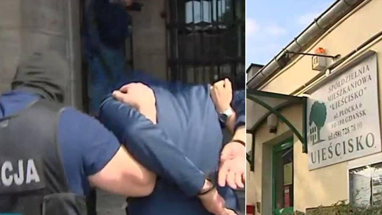Grzegorzowi H. grozi nawet 10 lat więzienia (fot. TVP3 Gdańsk)
