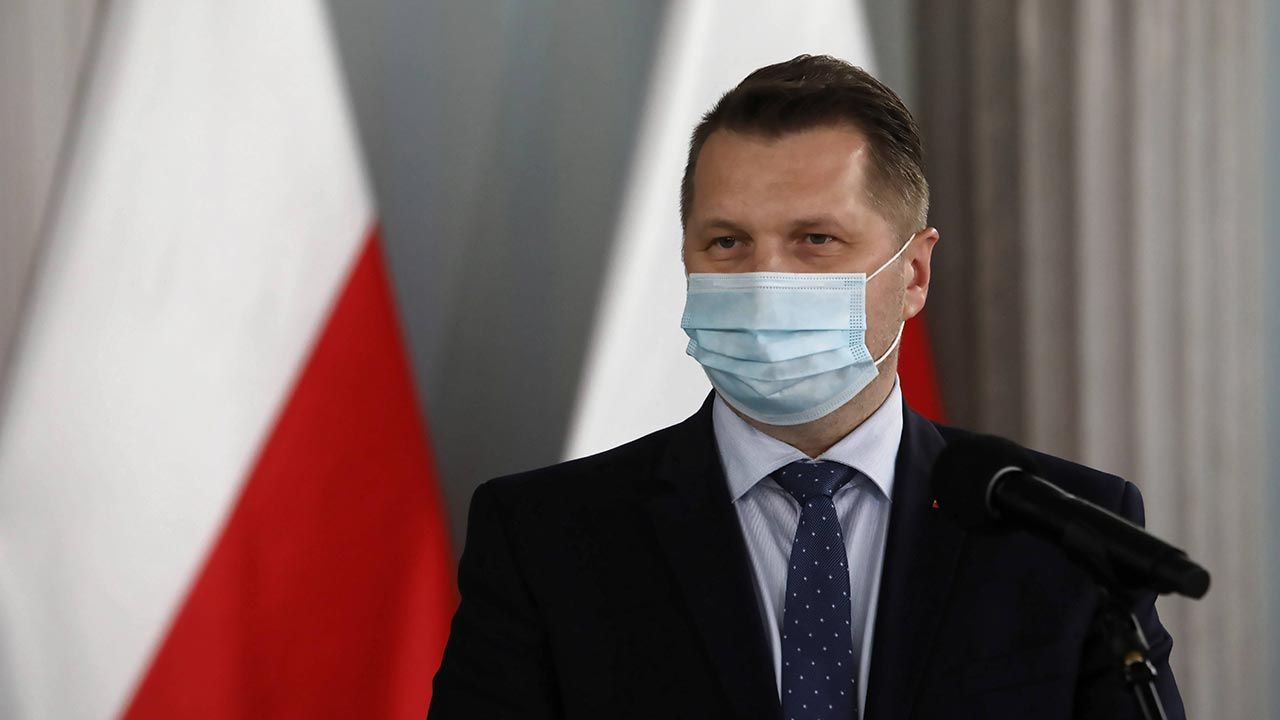 Minister edukacji i nauki wyjaśnił powód połączenia resortów (fot. PAP/Wojciech Olkuśnik)