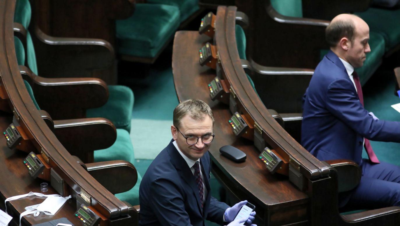 Sławomir Nitras ostro o wyborach prezydenckich i wojsku (fot. Leszek Szymański, PAP)