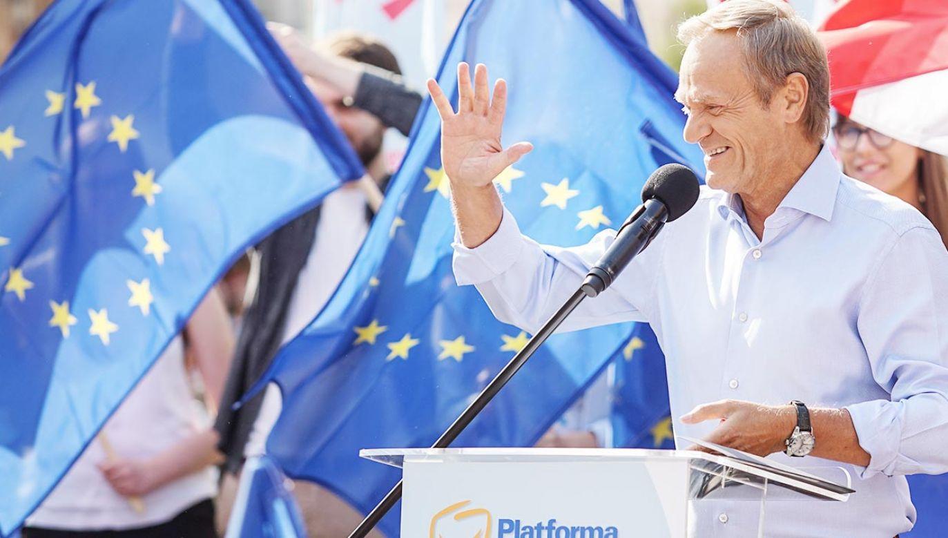 Zdaniem Marka Suskiego, Donald Tusk walnie przyczynił się do brexitu (fot. Michal Fludra/NurPhoto via Getty Images)