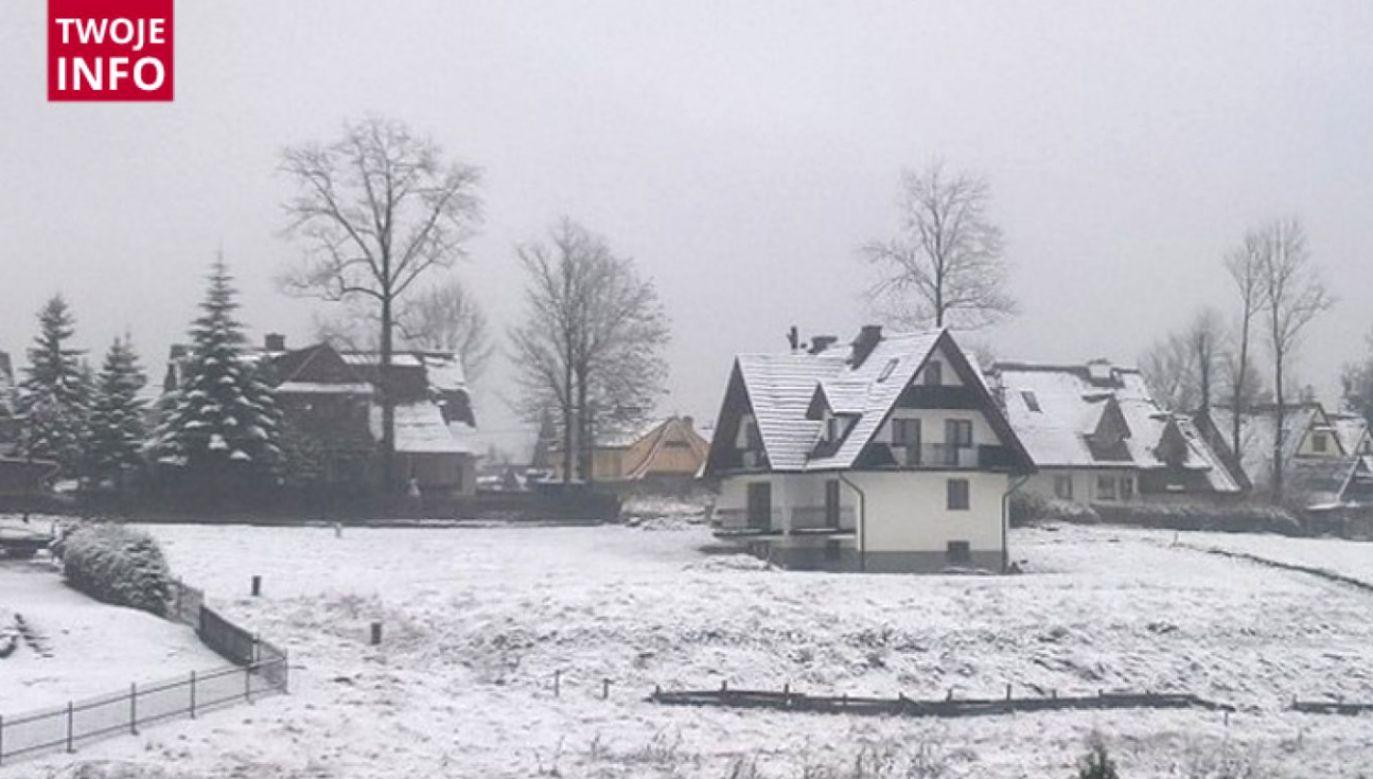W Zakopanem śnieg pojawił się już w listopadzie (fot. Twoje Info)