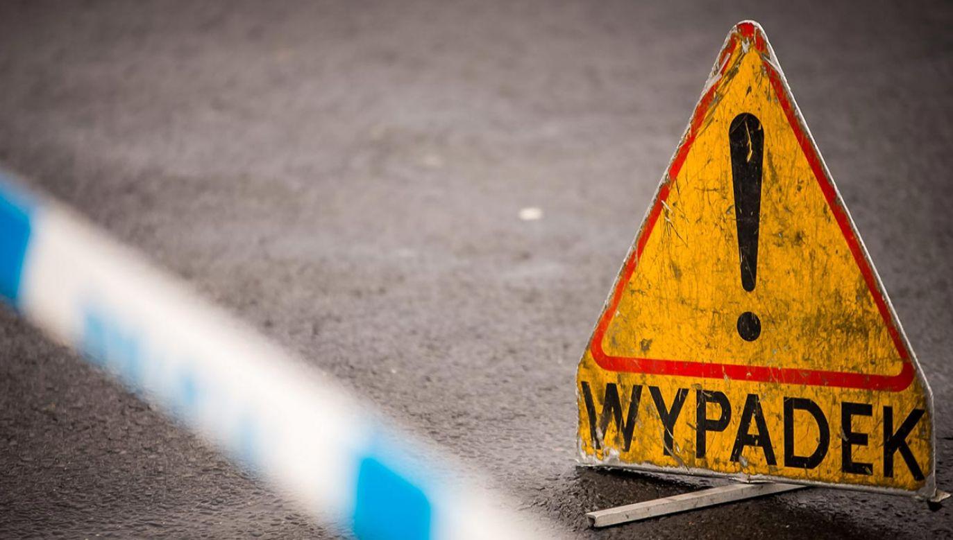 Zderzyło się pięć pojazdów na S8 (fot. PAP/Tytus Żmijewski)