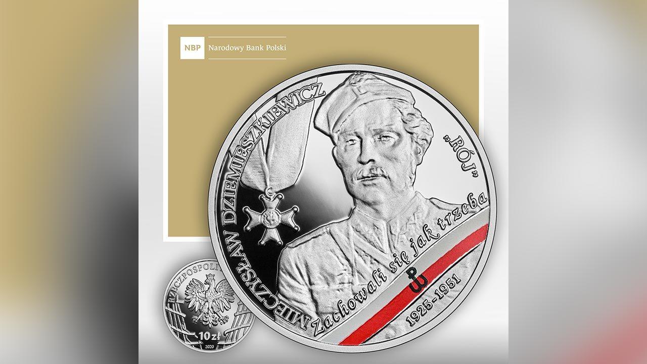 Srebrna moneta o nominale 10 zł wyemitowana została w nakładzie do 11 tys. sztuk (fot. NBP)