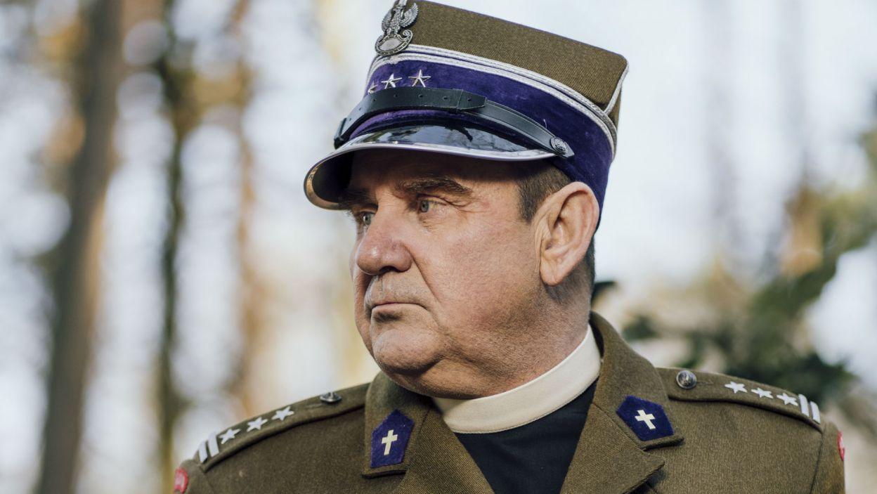 Autorzy spektaklu odwołują się także do czasów II wojny światowej. Jan Maria Bocheński był kapelanem, uczestnikiem walko o Monte Cassino  (fot. Stanisław Loba)