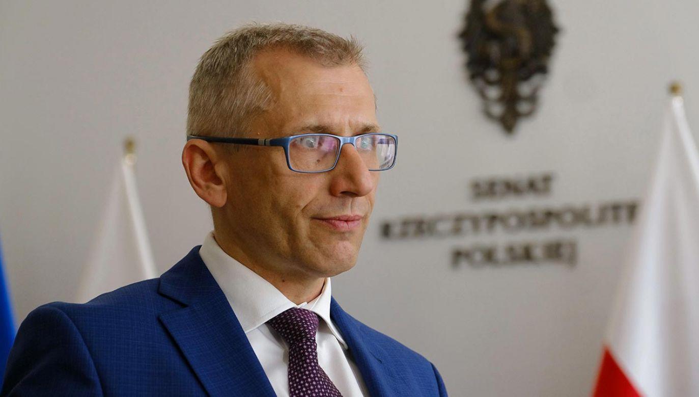 Senator Krzysztof Kwiatkowski odbędzie kwarantannę w związku z możliwością zakażenia koronawirusem (fot. PAP/Mateusz Marek)