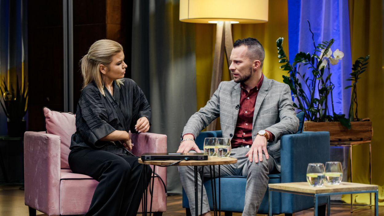 Dawid wyznał, że na randce z Magdą, myślał głównie o Martynie (fot. TVP)