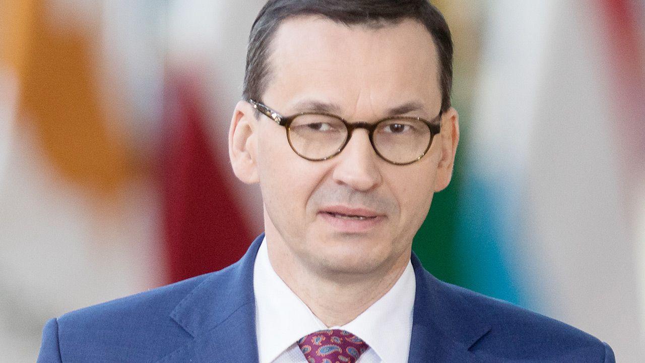 Premier Polski udzielił wywiadu Polskiej Agencji Prasowej (fot. Thierry Monasse/Getty Images)