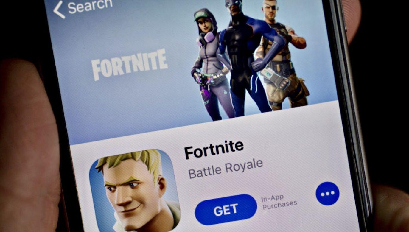 Nowi gracze nie mogą już ściągnąć Forenite z AppStore (fot. Andrew Harrer/Bloomberg via Getty Images)
